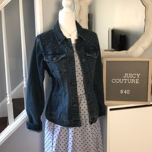 NWT Juicy Couture denim jacket size M